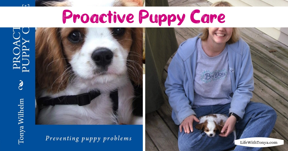 Proactive Puppy Care Book
